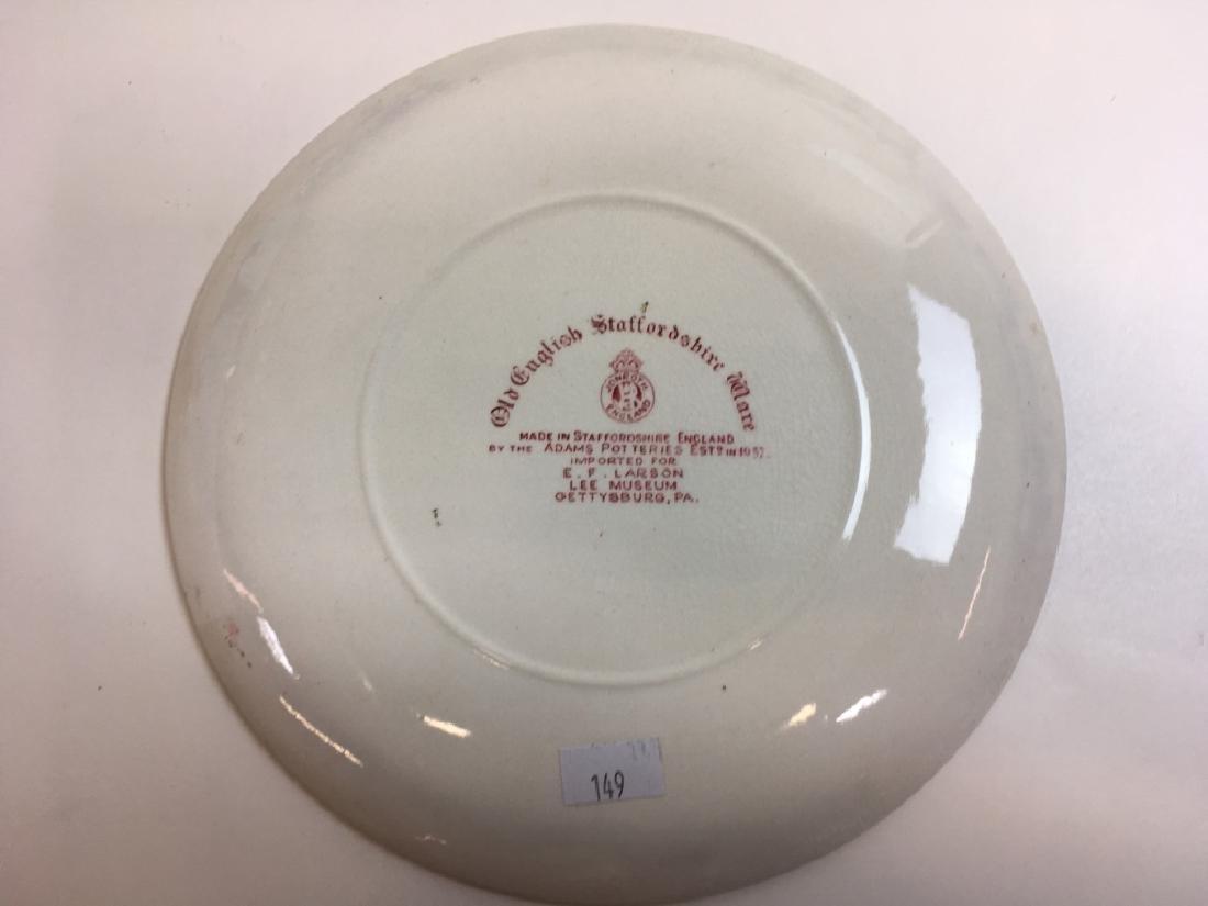 12 PCS OF GLASS WARE & SOUVENIR PLATES - 13