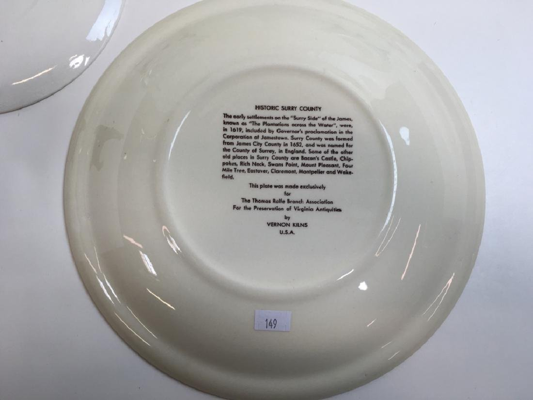 12 PCS OF GLASS WARE & SOUVENIR PLATES - 14