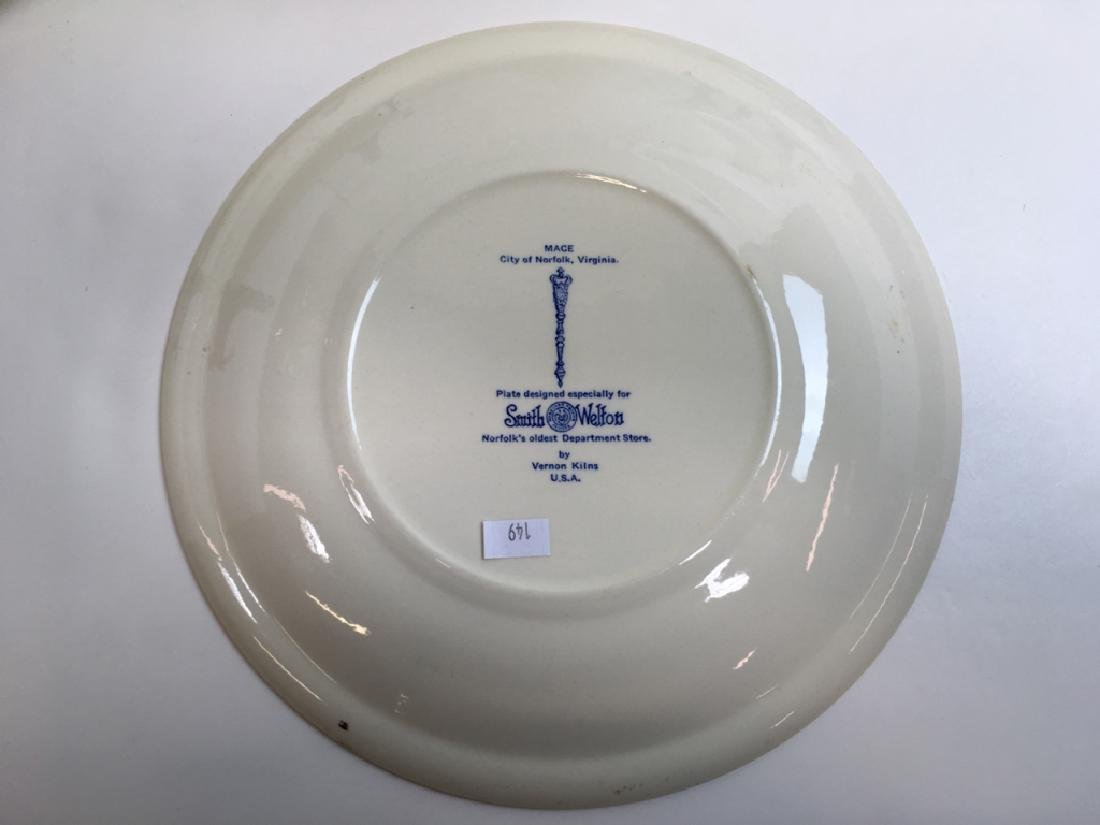 12 PCS OF GLASS WARE & SOUVENIR PLATES - 15
