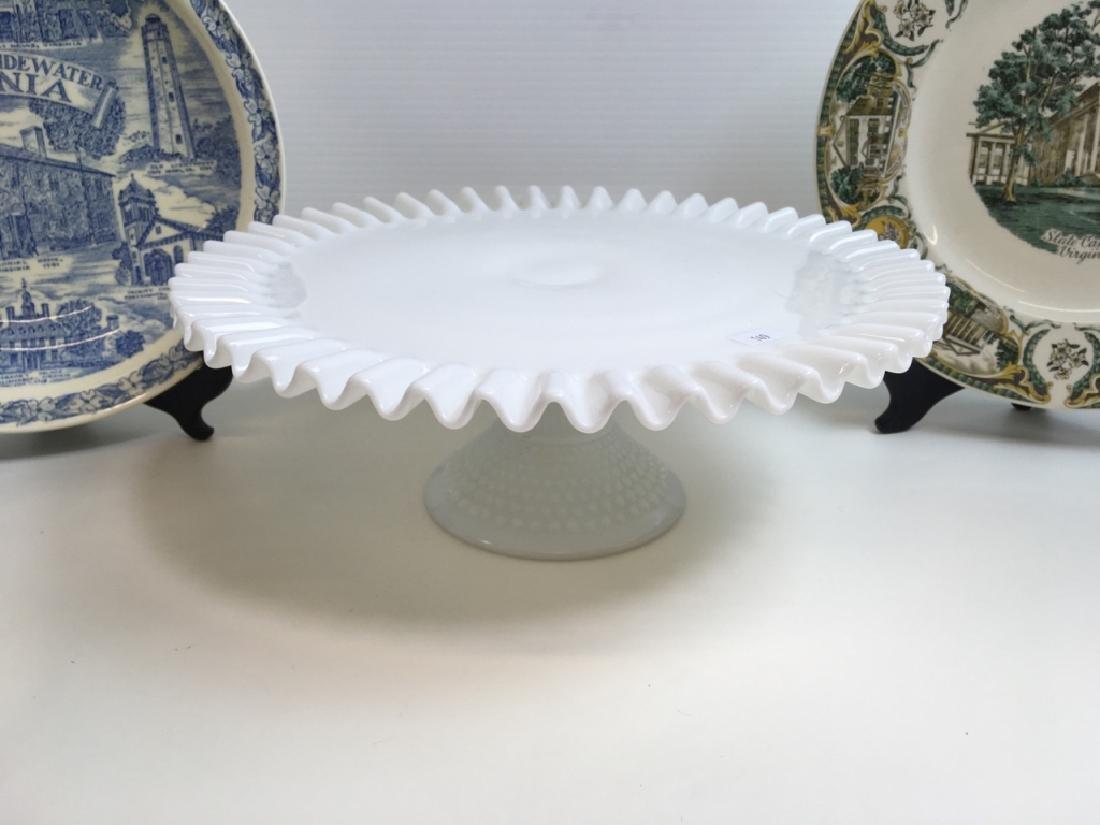 12 PCS OF GLASS WARE & SOUVENIR PLATES - 8