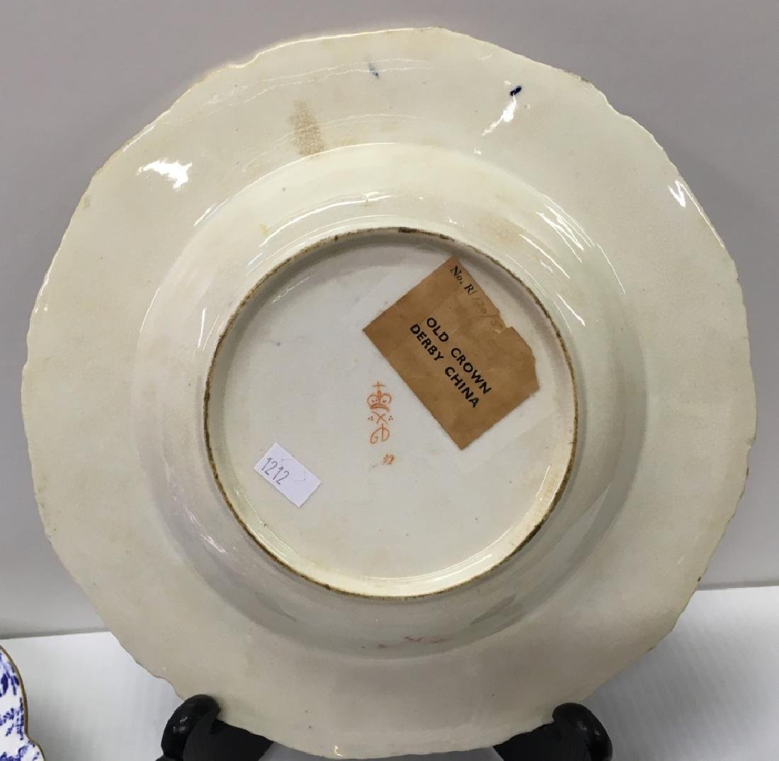 ROYAL CROWN DERBY PORCELAINS & SIGNED ART GLASS - 3