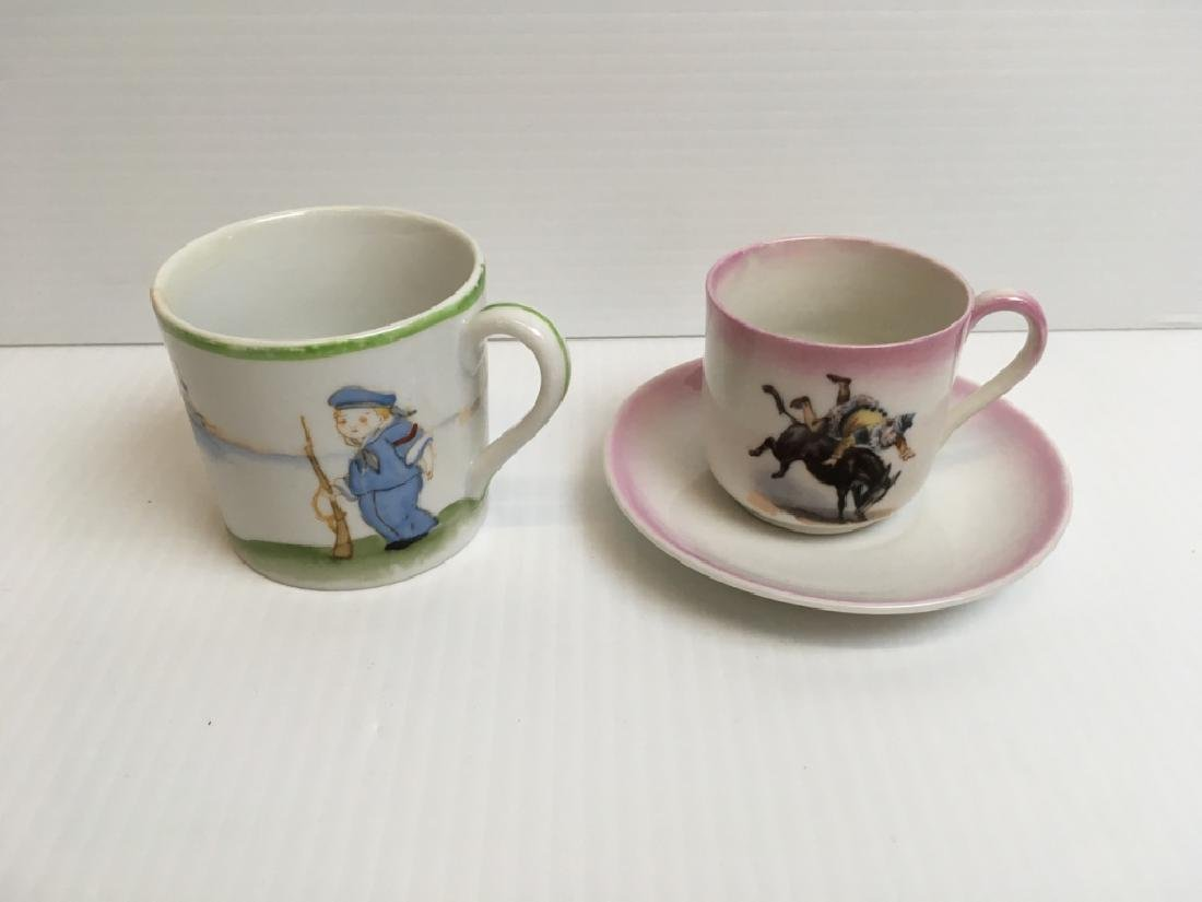 5 PCS OF VINTAGE BABY & YOUTH PORCELAINS - 11
