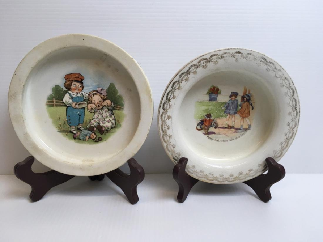 5 PCS OF VINTAGE BABY & YOUTH PORCELAINS - 2