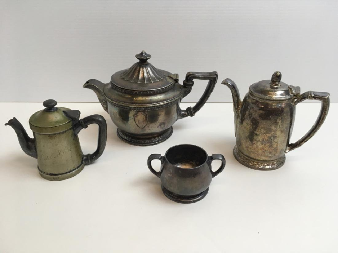 4 PCS ANTIQUE & VINTAGE SP RESTAURANT WARE