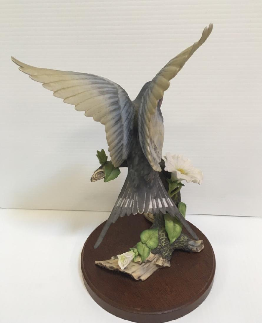 5 HAND PAINTED PORCELAIN BIRD FIGURINES - 8