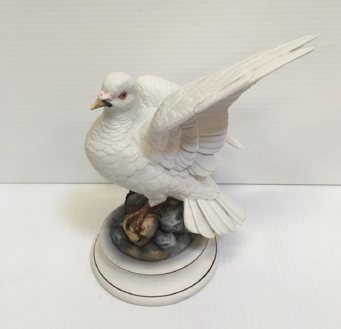 5 HAND PAINTED PORCELAIN BIRD FIGURINES - 9