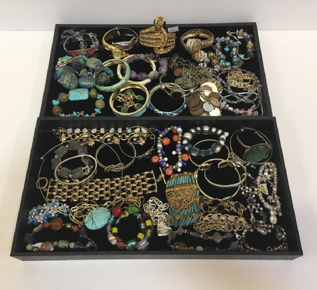 ASSORTED PCS OF COSTUME JEWELRY