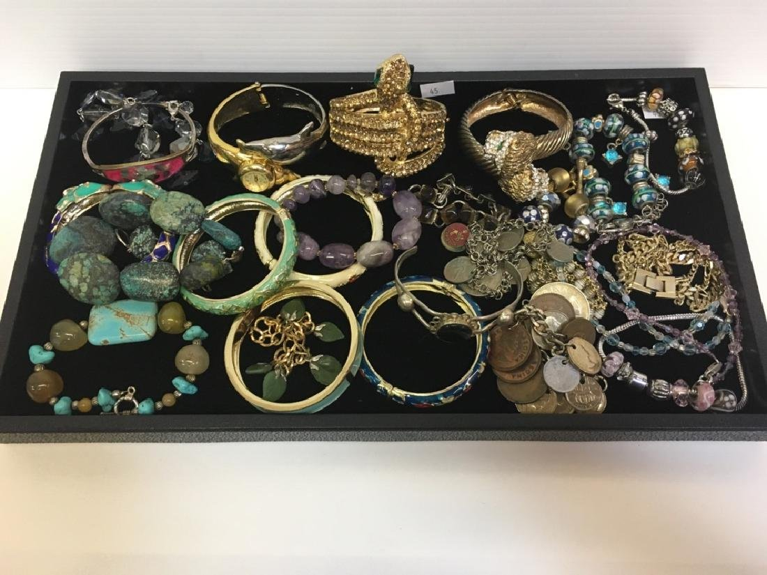 ASSORTED PCS OF COSTUME JEWELRY - 2