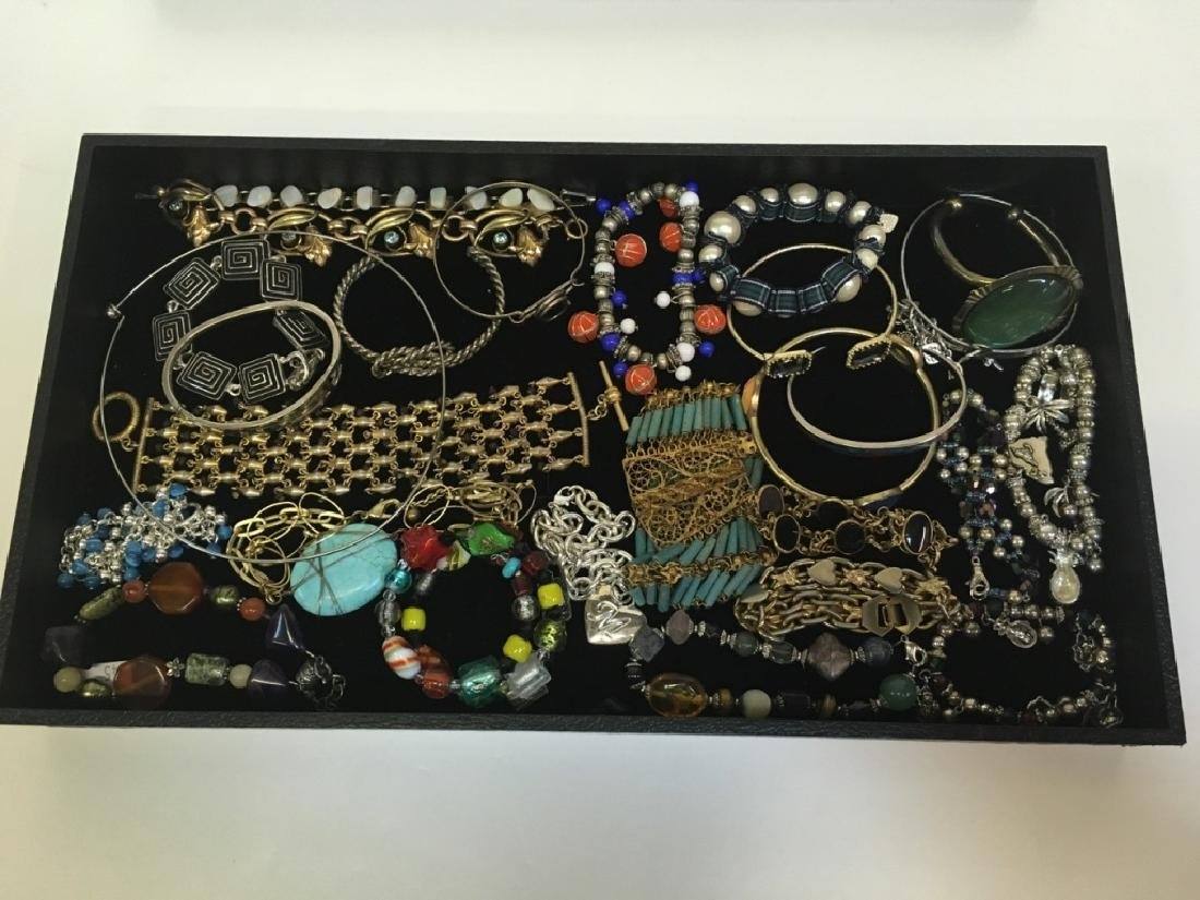 ASSORTED PCS OF COSTUME JEWELRY - 3