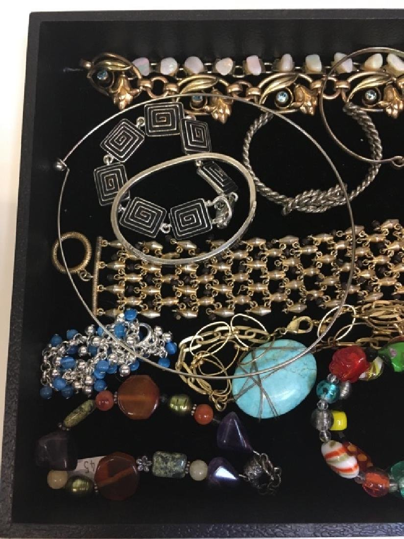 ASSORTED PCS OF COSTUME JEWELRY - 7