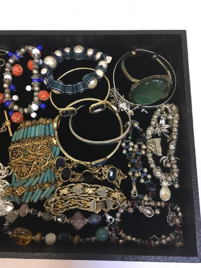 ASSORTED PCS OF COSTUME JEWELRY - 9