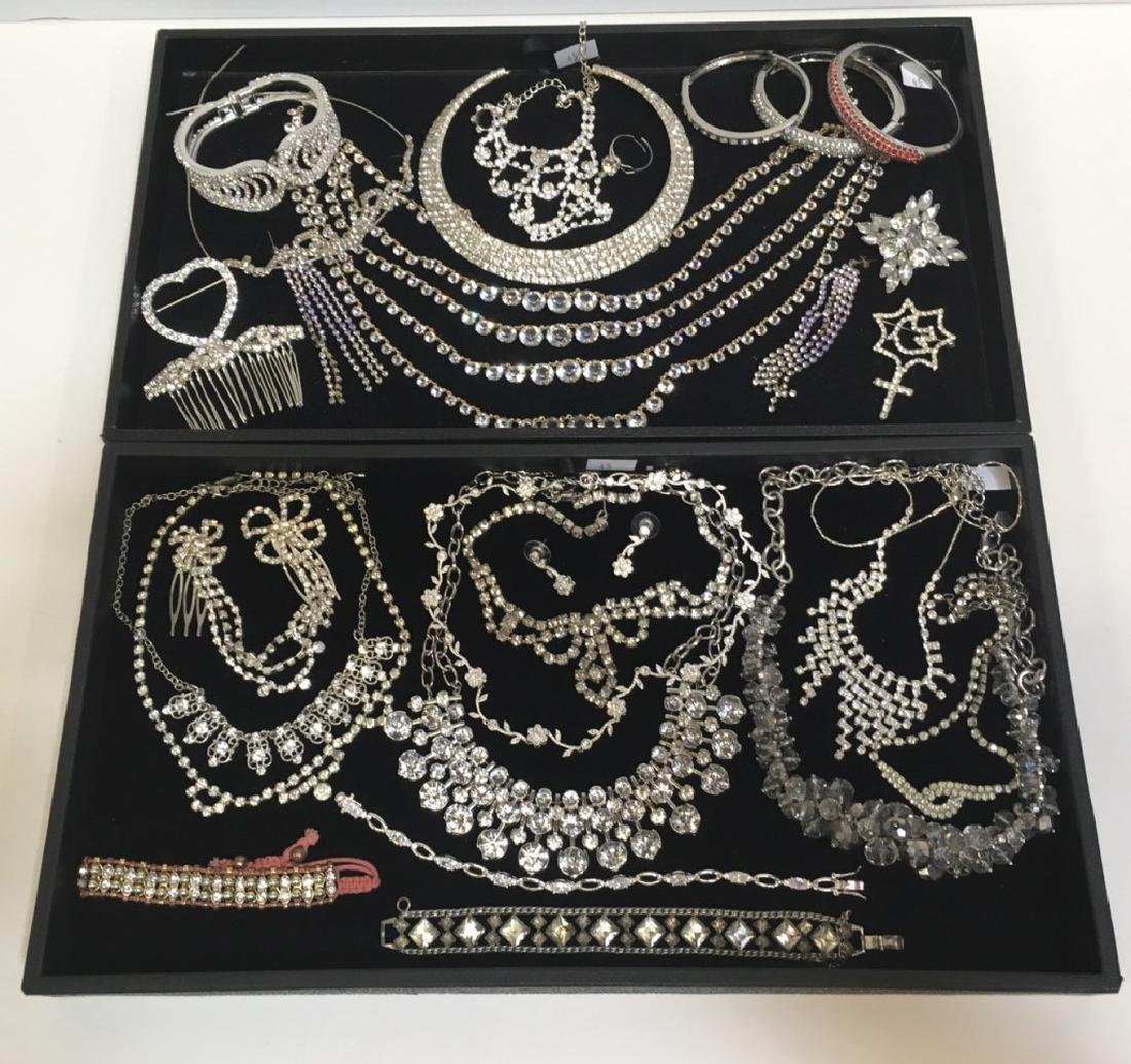LARGE ASSORTMENT OF COSTUME JEWELRY