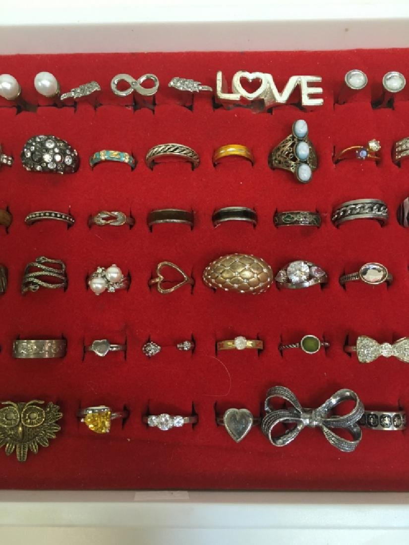 65 FASHION RINGS - 3