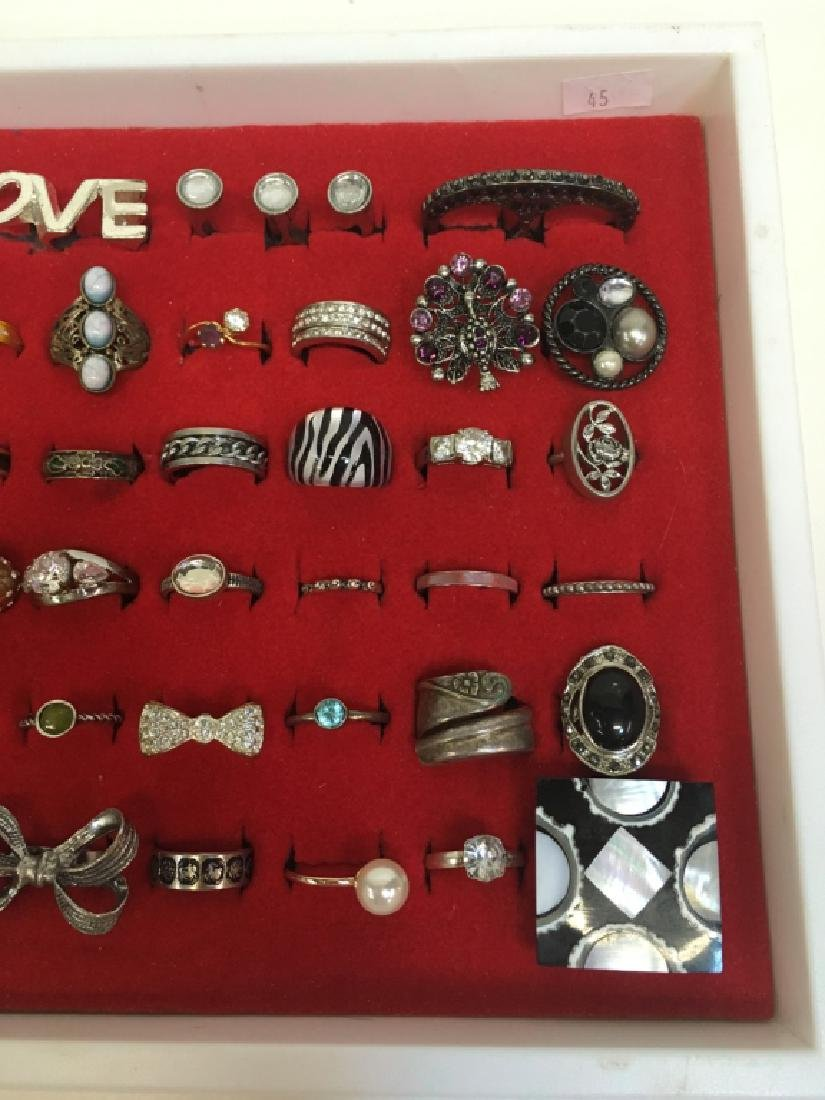 65 FASHION RINGS - 4