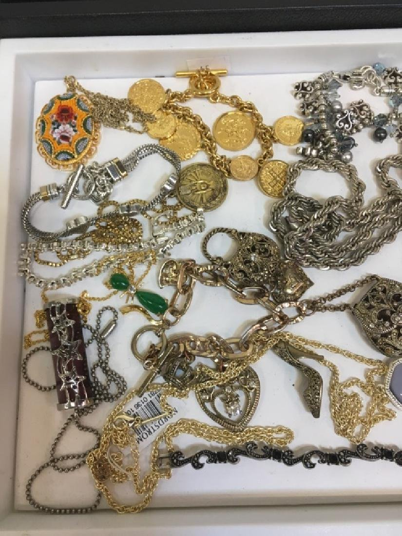 ASSORTED PCS OF COSTUME JEWELRY - 4