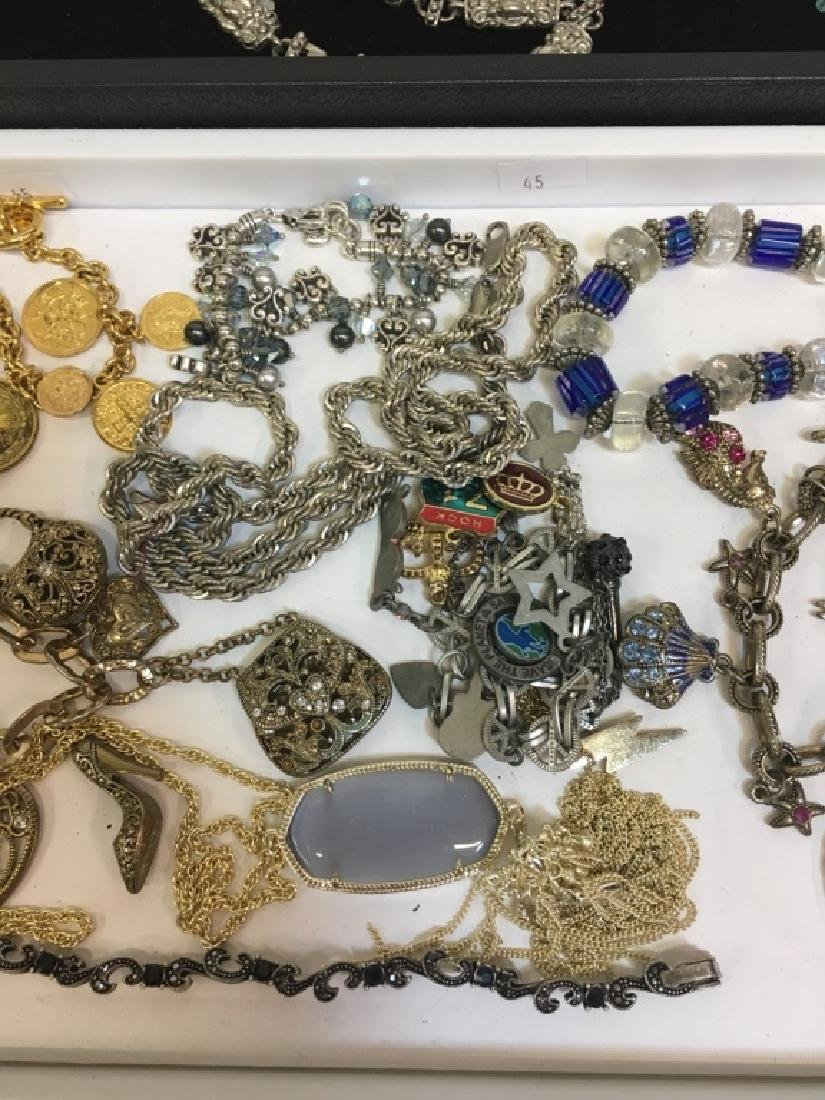 ASSORTED PCS OF COSTUME JEWELRY - 5