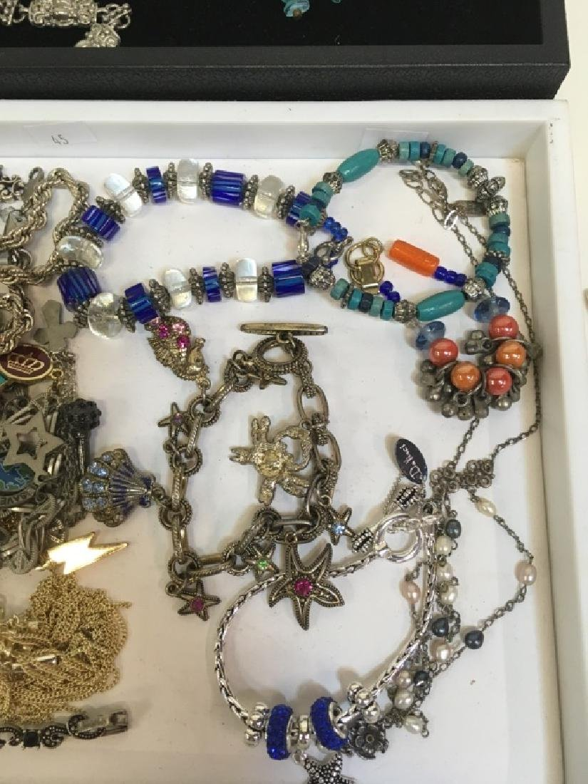 ASSORTED PCS OF COSTUME JEWELRY - 6