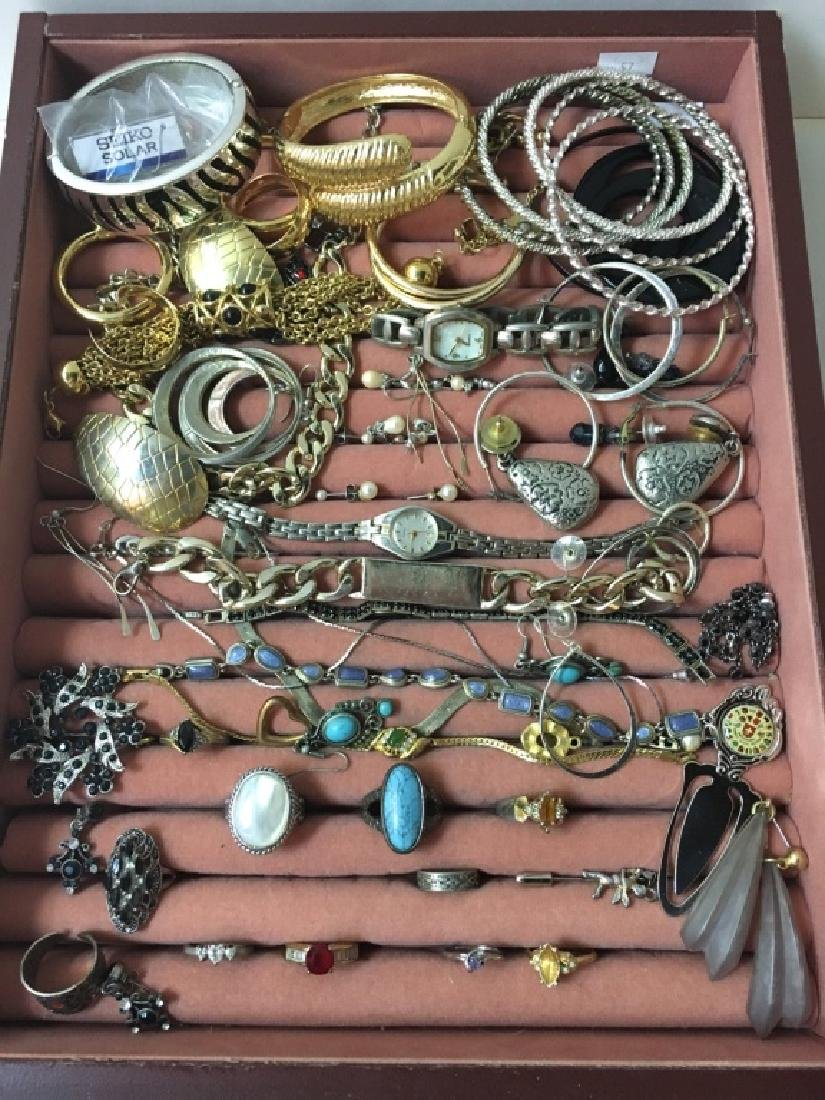 LARGE ASSORTMENT OF COSTUME JEWELRY - 2