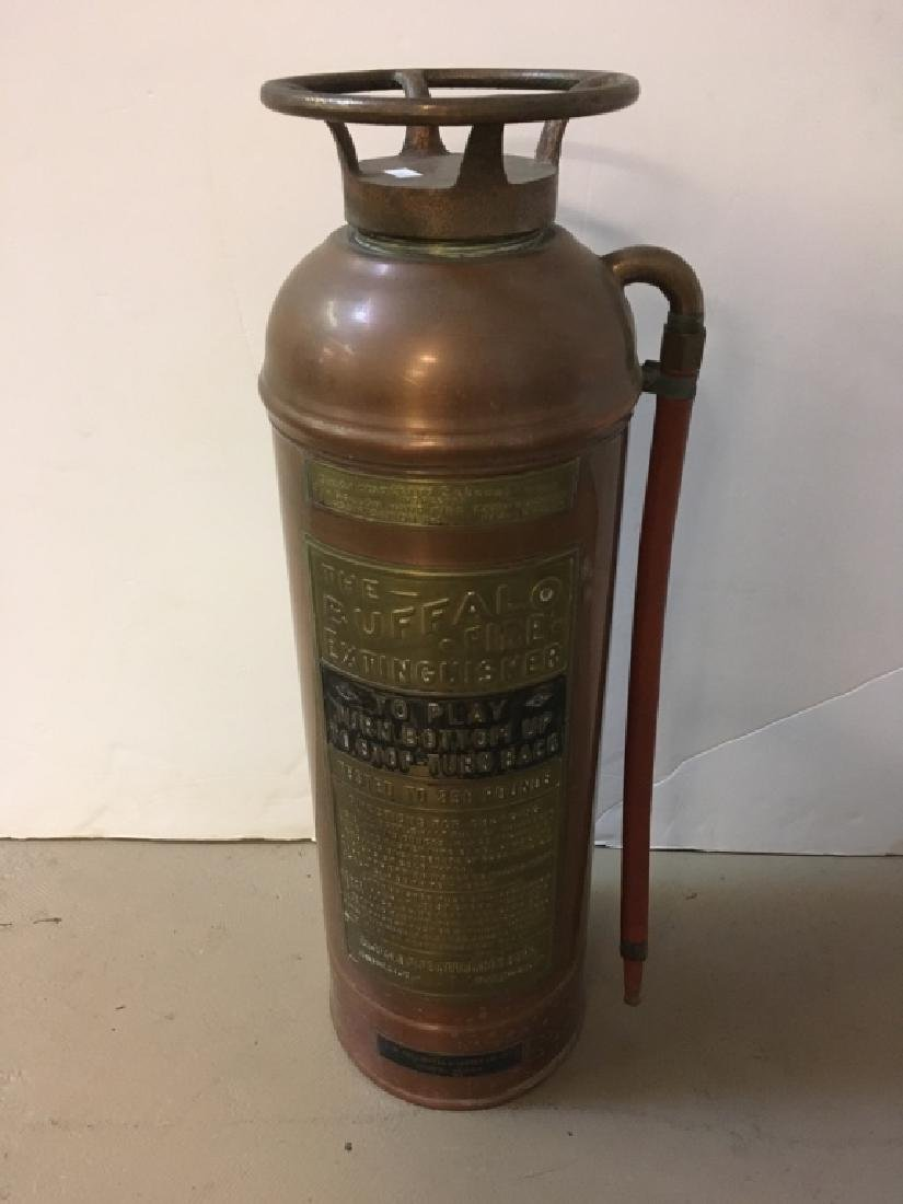 VINTAGE BUFFALO FIRE CORP FIRE EXTINGUISHER