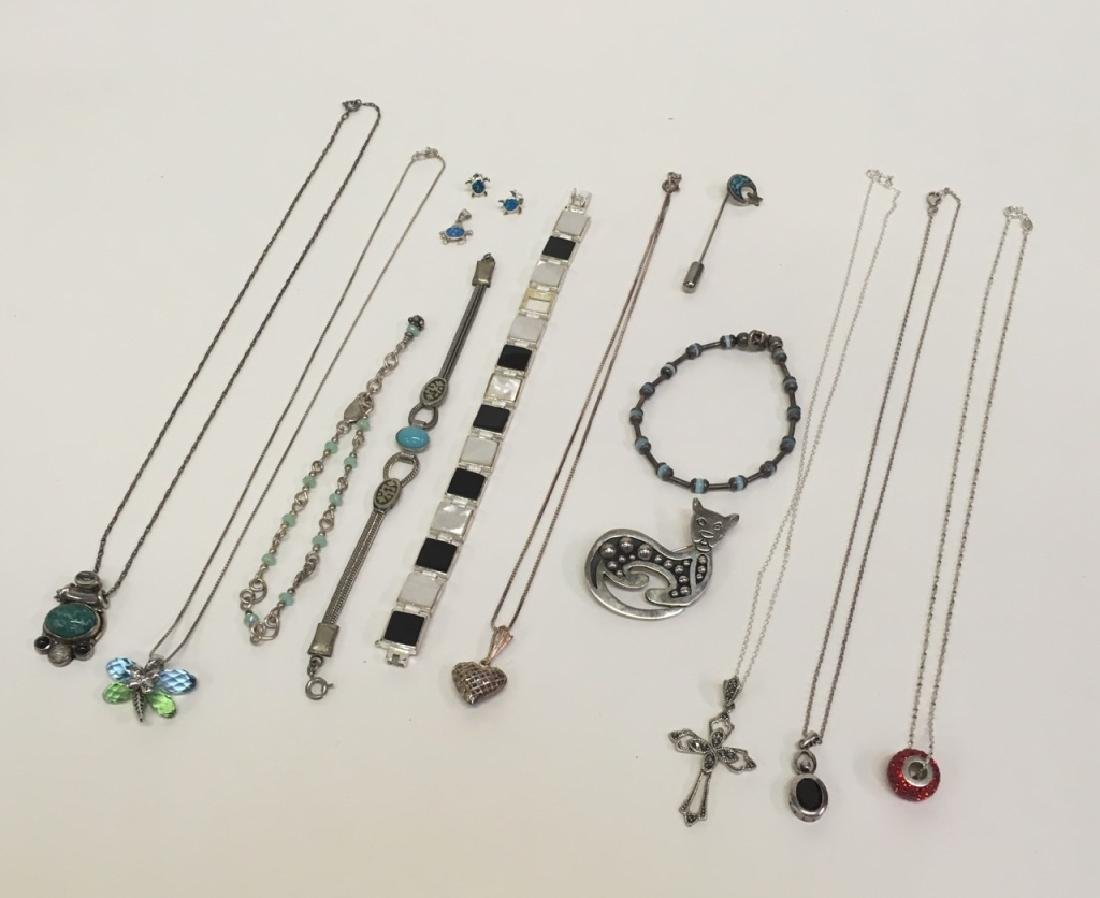 15 PCS OF ASSORTED JEWELRY