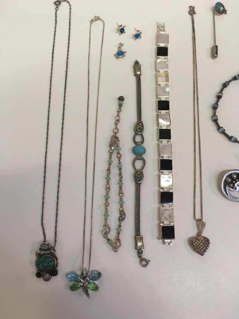 15 PCS OF ASSORTED JEWELRY - 2