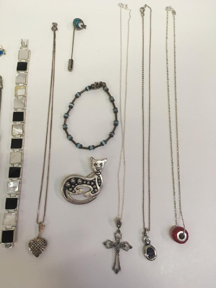 15 PCS OF ASSORTED JEWELRY - 4