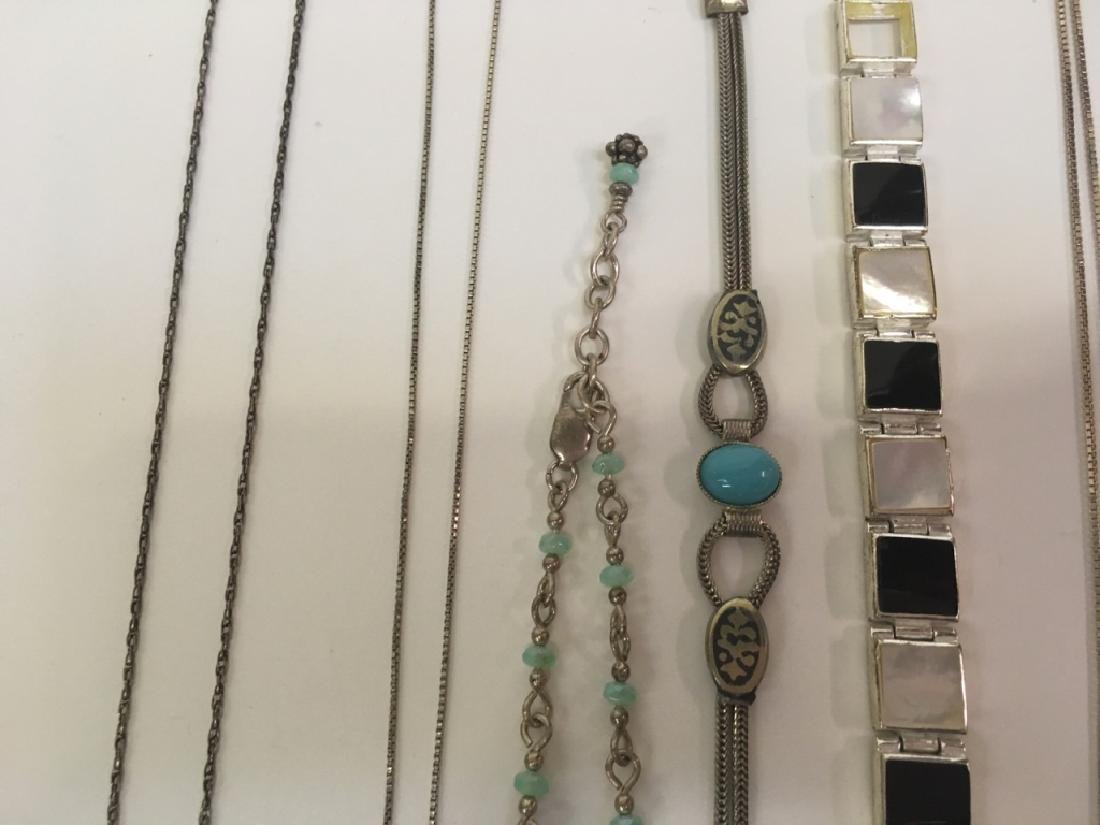 15 PCS OF ASSORTED JEWELRY - 5