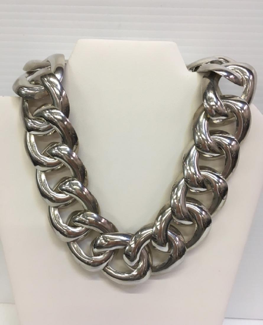 "MEXICAN SILVER 925 19"" NECKLACE"