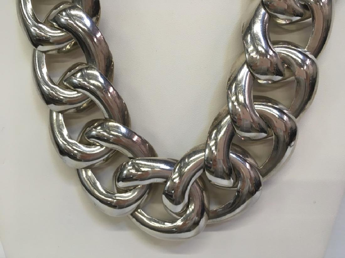 "MEXICAN SILVER 925 19"" NECKLACE - 3"