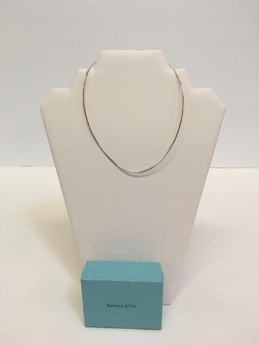 TIFFANY & CO 925 SNAKE CHAIN NECKLACE