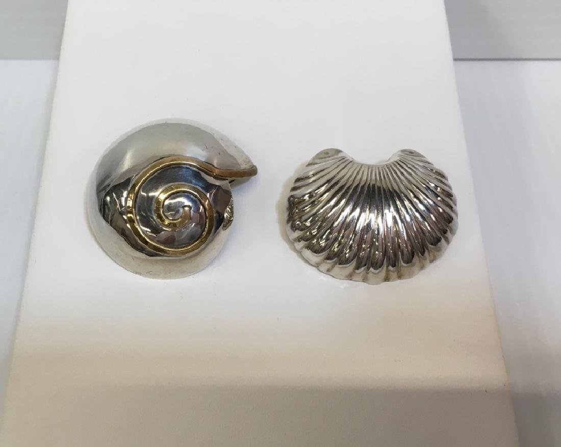 2  PINS / PENDANTS - STERLING & 925 MEXICAN SILVER