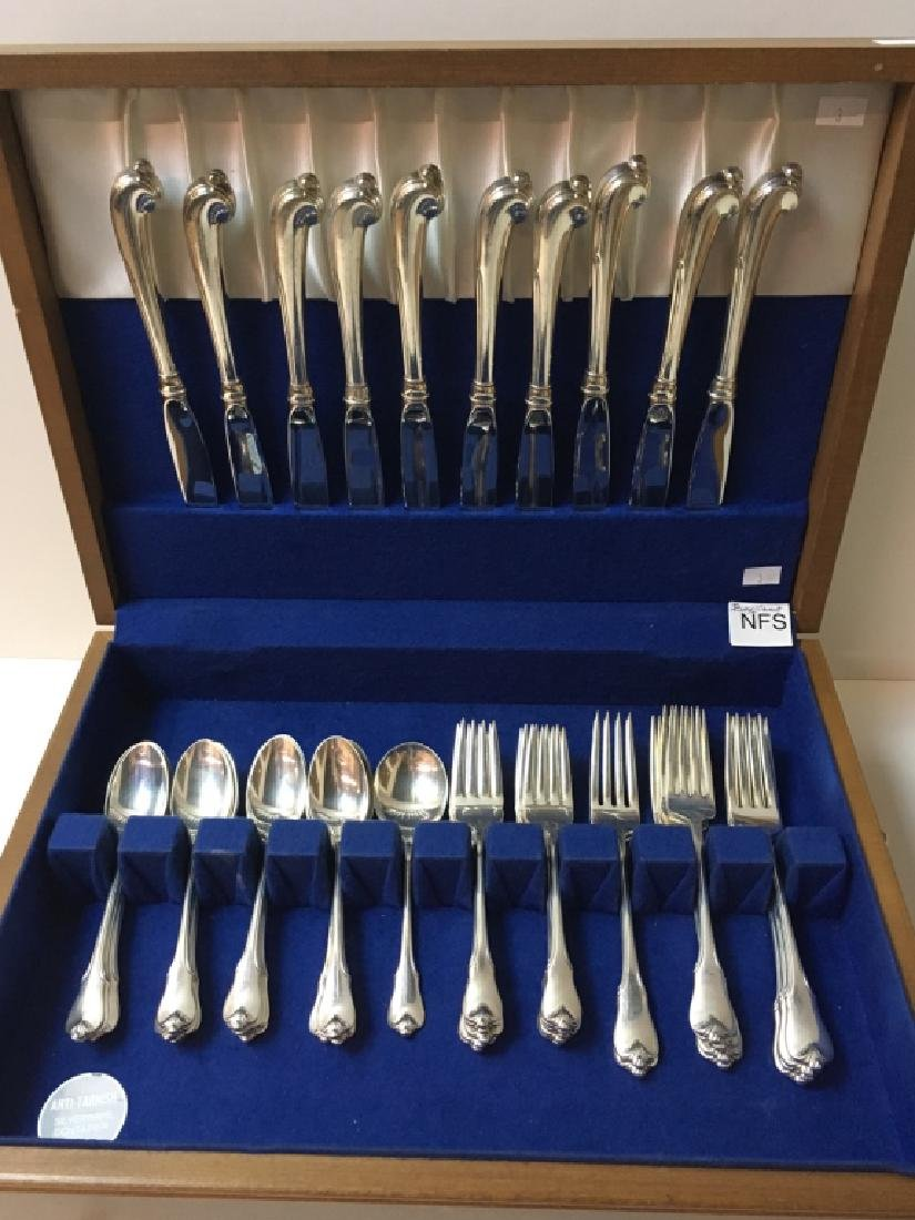 43 PCS OF STERLING GRAND COLONIAL BY WALLACE