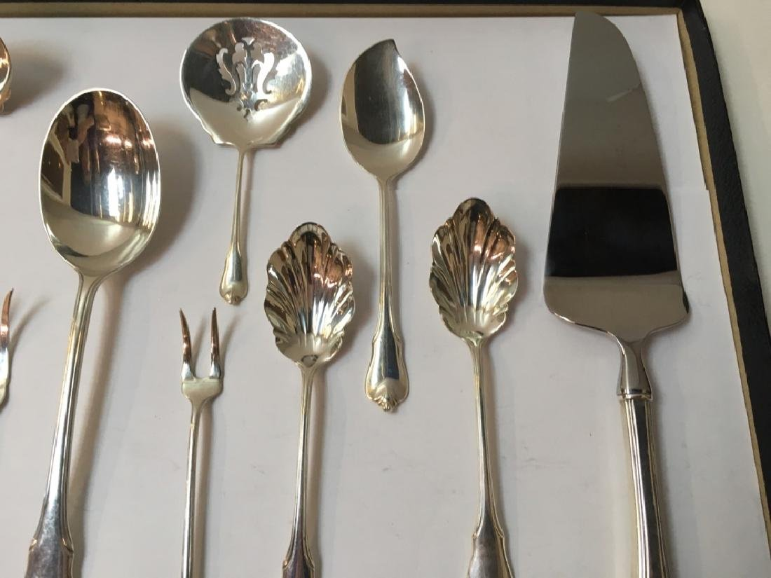 10 PCS OF STERLING GRAND COLONIAL BY WALLACE - 4