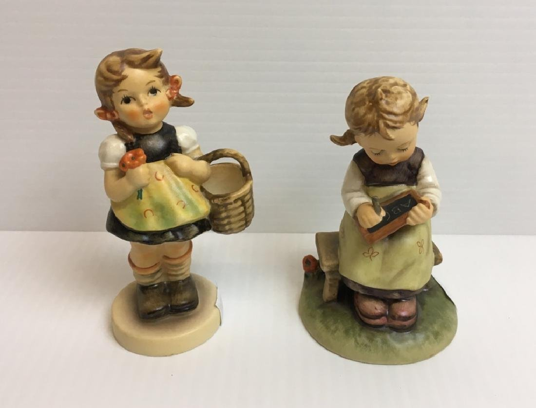 2 GOEBEL HUMMEL FIGURINES