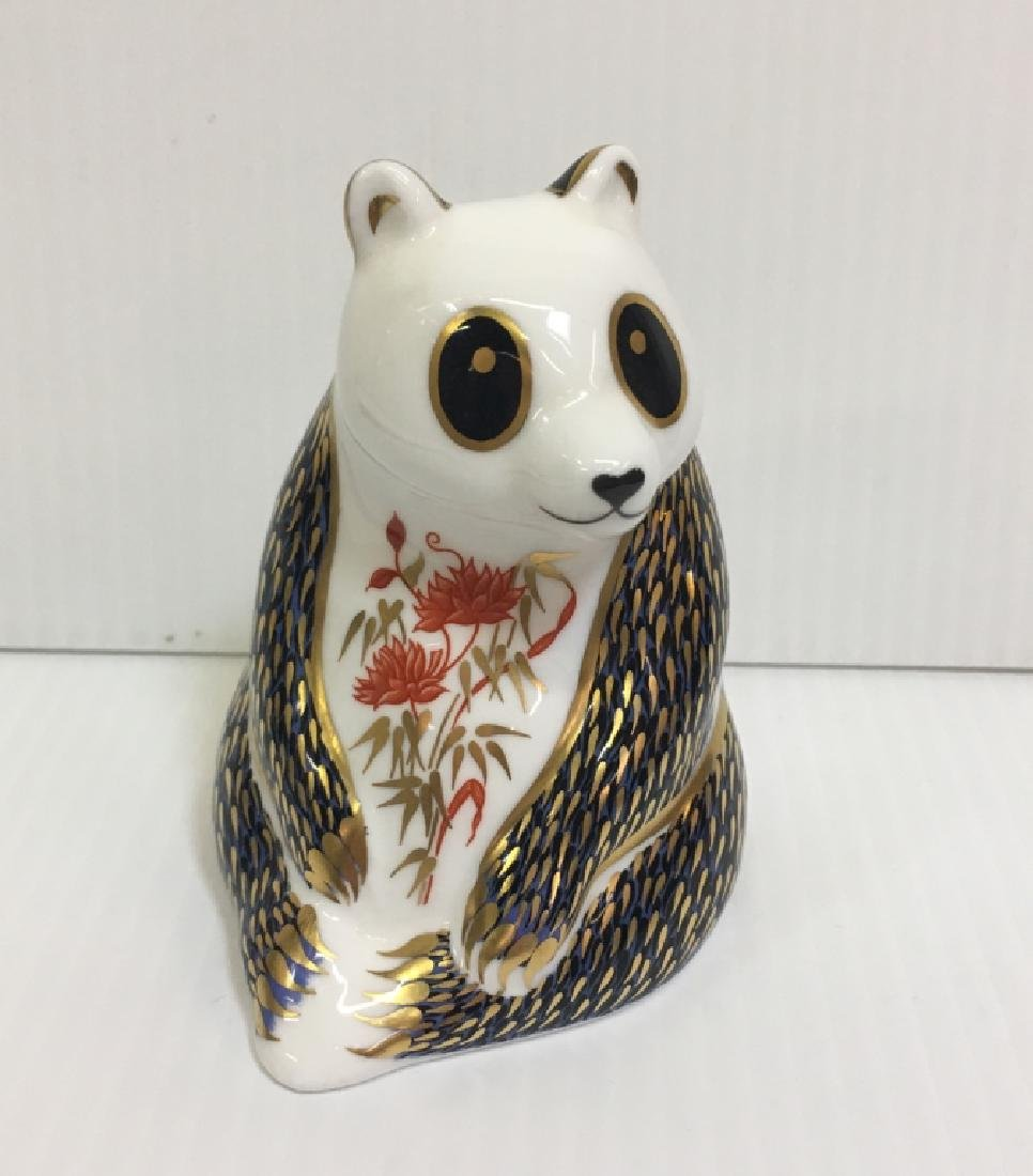 ROYAL CROWN DERBY PANDA FIGURINE
