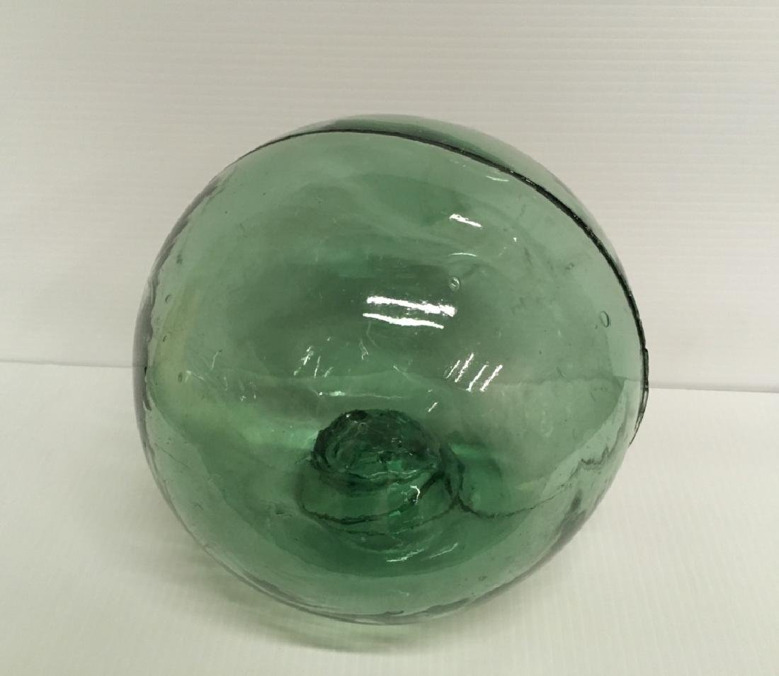 EARLY 20TH C JAPANESE GLASS FISHING FLOAT