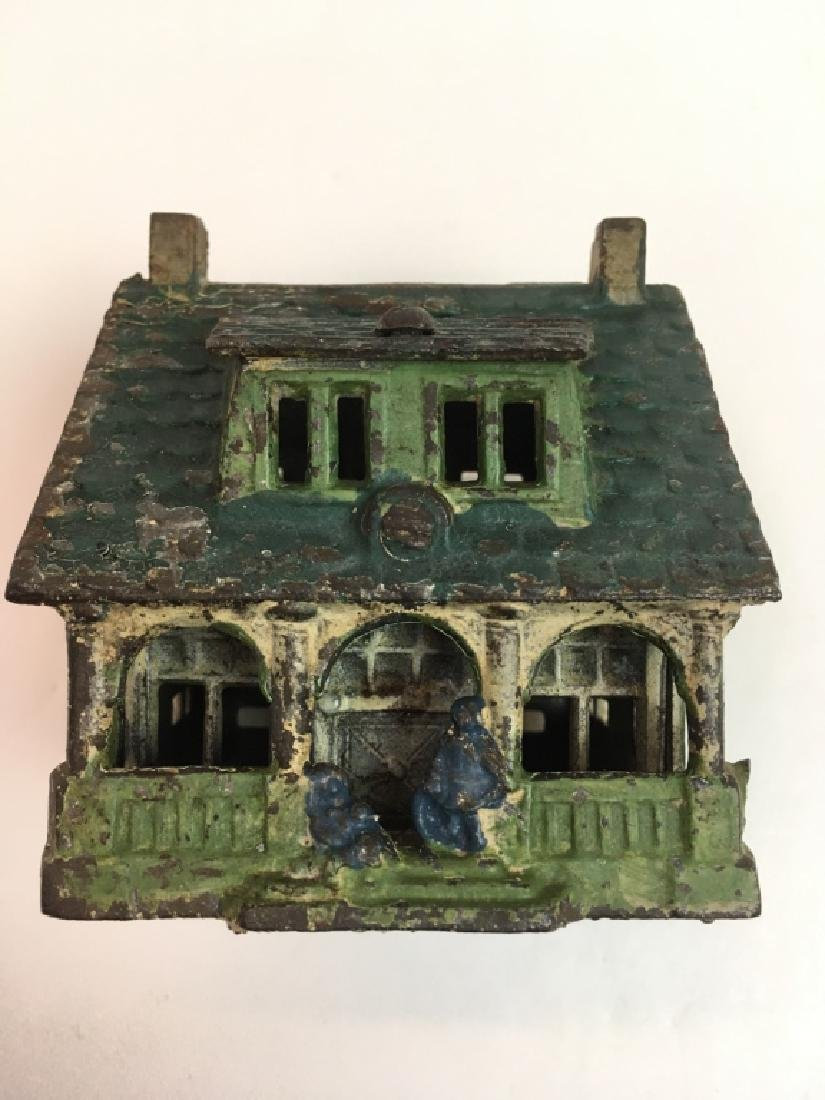 VINTAGE GREY IRON CASTING CO. BUNGALOW STILL BANK