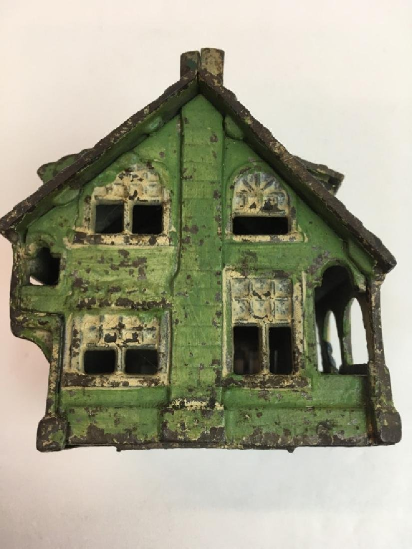 VINTAGE GREY IRON CASTING CO. BUNGALOW STILL BANK - 2