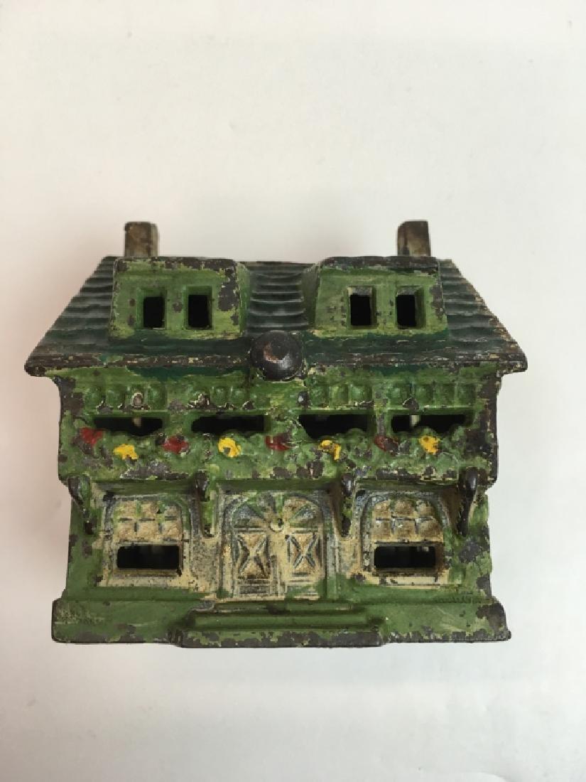 VINTAGE GREY IRON CASTING CO. BUNGALOW STILL BANK - 3