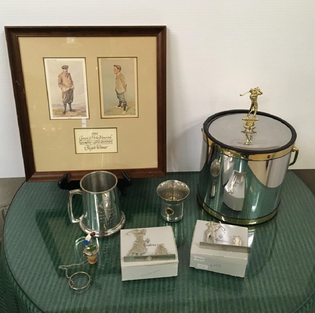 14 PCS OF VIRGINIA BEACH GOLF COLLECTIBLES