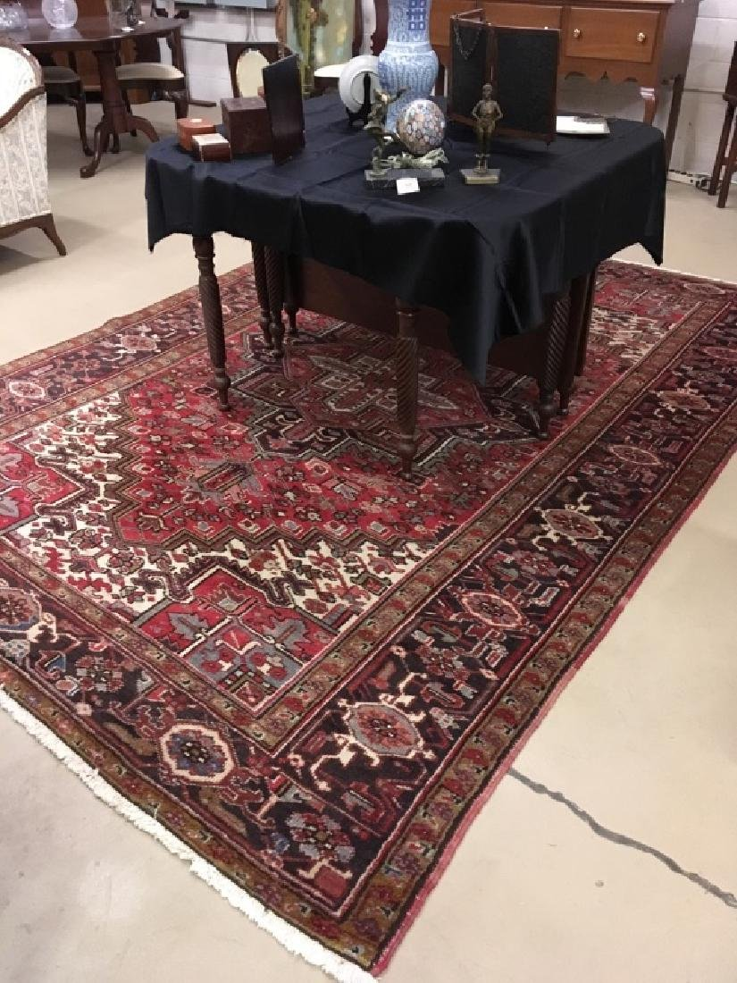 HAND KNOTTED TRIBAL ORIENTAL RUG