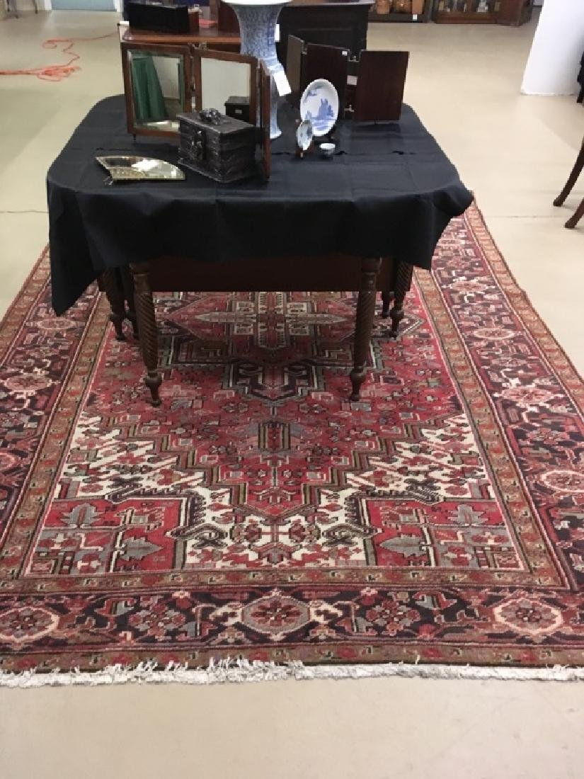 HAND KNOTTED TRIBAL ORIENTAL RUG - 2