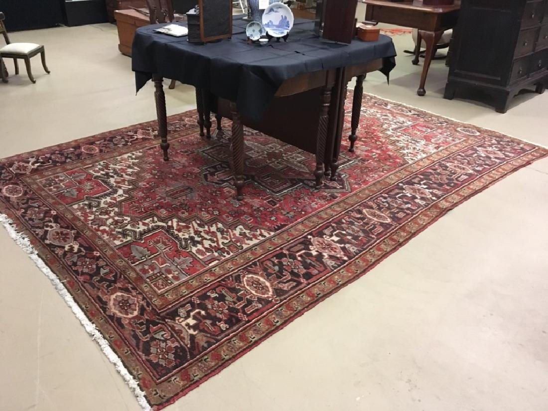 HAND KNOTTED TRIBAL ORIENTAL RUG - 3