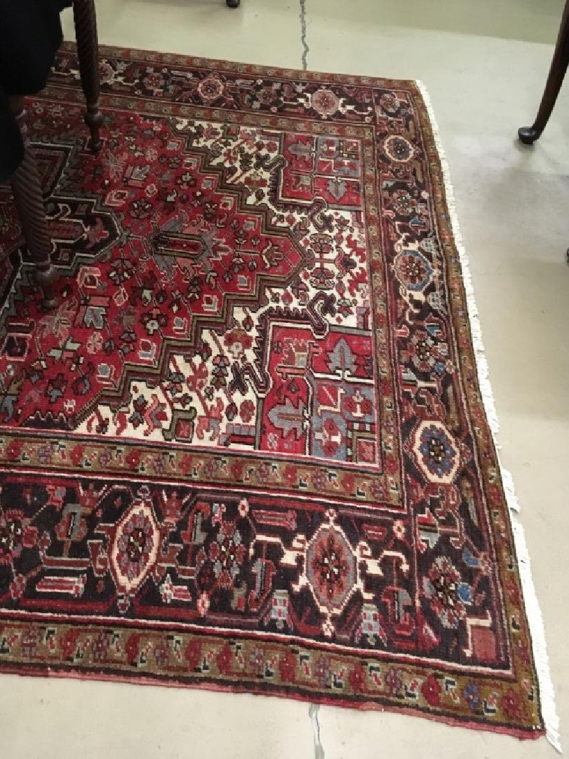 HAND KNOTTED TRIBAL ORIENTAL RUG - 4
