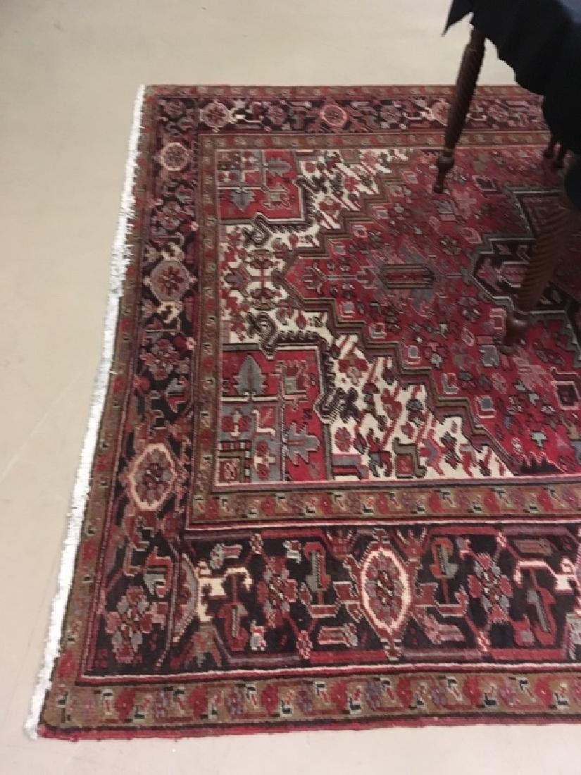 HAND KNOTTED TRIBAL ORIENTAL RUG - 5