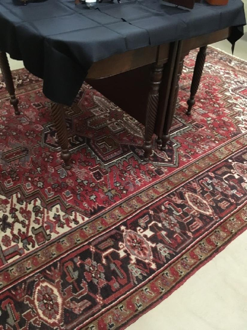 HAND KNOTTED TRIBAL ORIENTAL RUG - 6