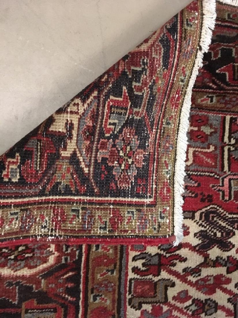 HAND KNOTTED TRIBAL ORIENTAL RUG - 7