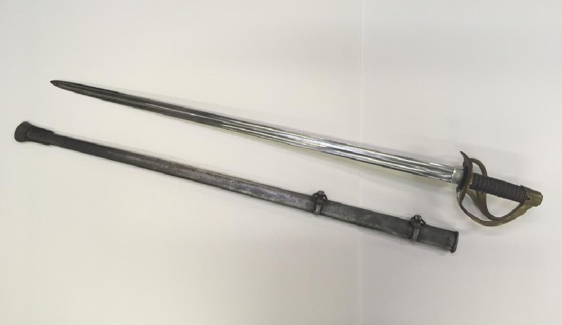 OFFICER'S SWORD & SHEATH