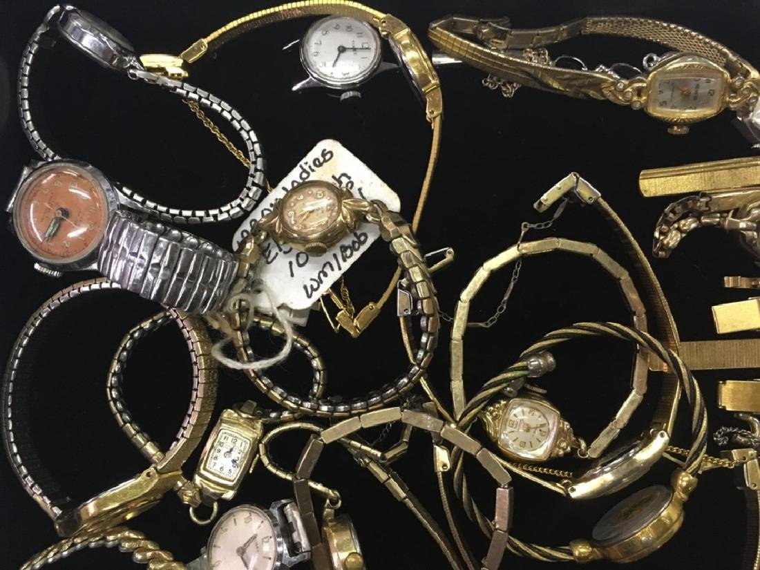 TRAY LOT OF WRIST WATCHES - 8