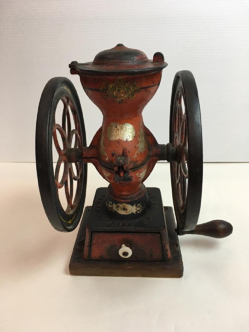 ANTIQUE ENTERPRISE COFFEE MILL - PHILADELPHIA